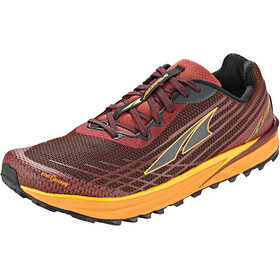 Altra Timp 2 Trail Running Shoes Men, dark red/orange